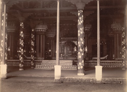 Interior of the Palace, Tanjore